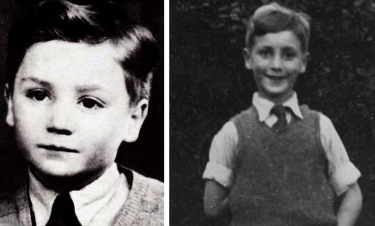 Джон Леннон в детстве