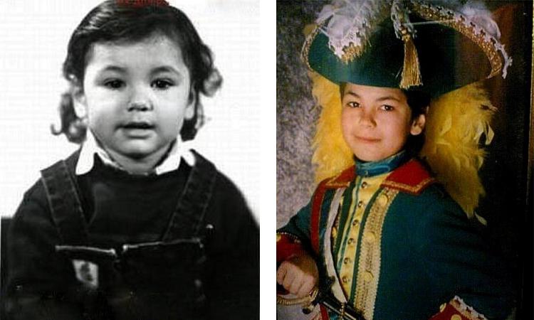Ратмир Шишков в детстве