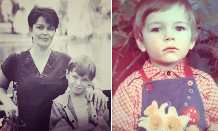 С мамой и в детстве
