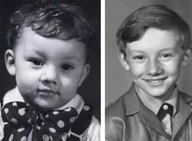 Николай Фоменко в детстве