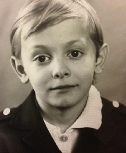 Евгений Кулаков в детстве
