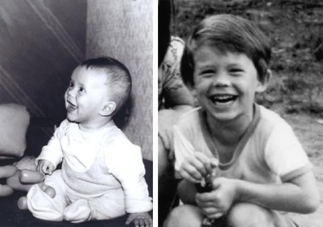 Кирилл Плетнев в детстве