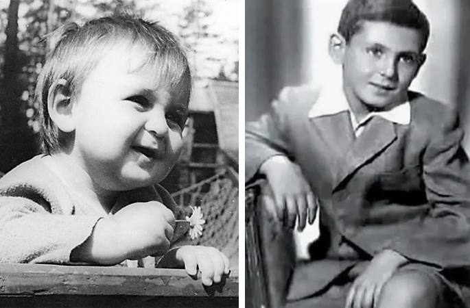 Ян Арлазоров в детстве