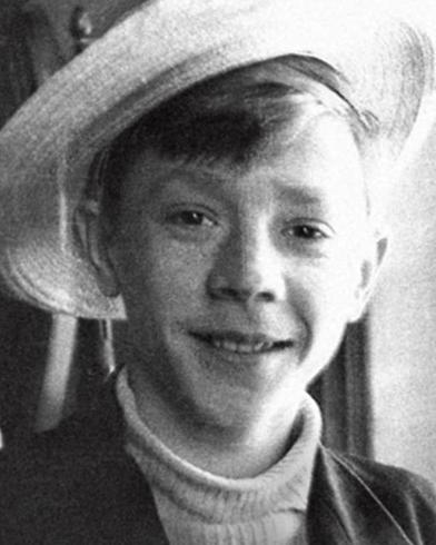 Игорь Бобрин в детстве