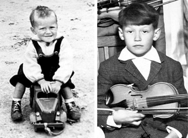 Владимир Кузьмин в детстве