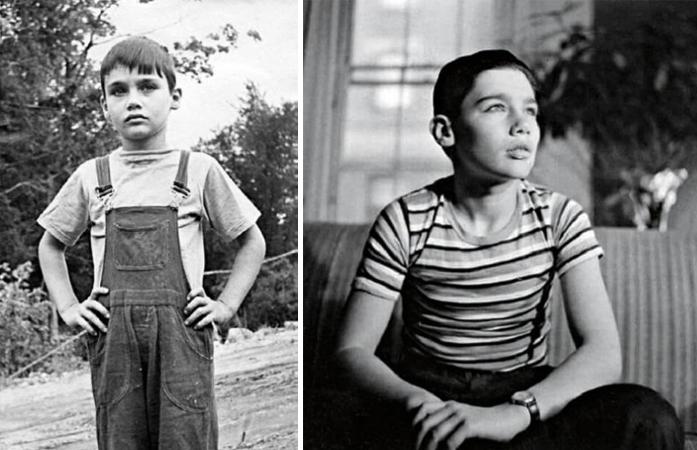Владимир Познер в детстве