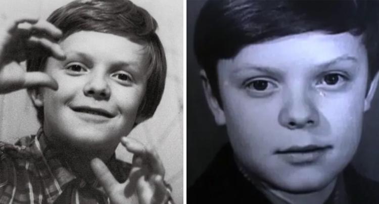 Сергей Супонев в детстве