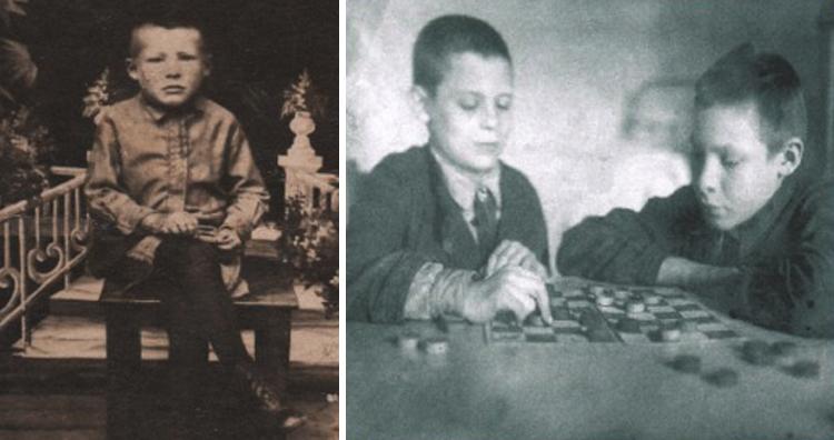 Евгений Носов в детстве