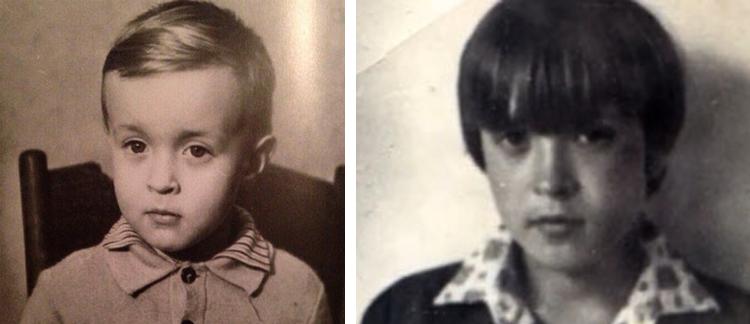 Егор Летов в детстве