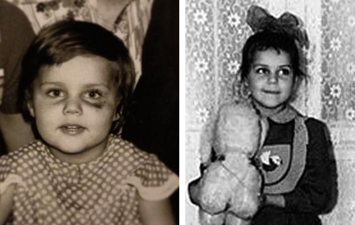 Ольга в детстве
