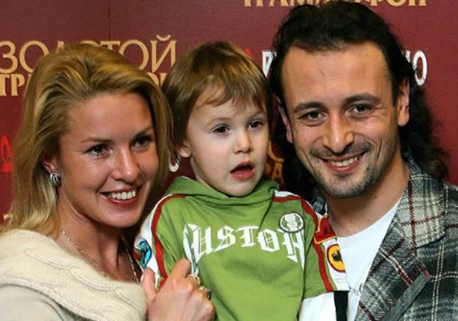 С Ильёй Авербухом и сыном Мартином