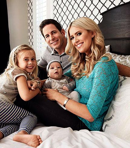 С Тареком и детьми