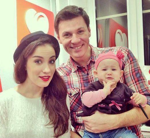 С Дмитрием Клейманом и дочерью Лидией