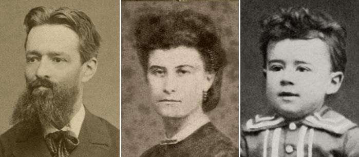 Жозеф Равель, Мари Делюар и маленький Морис