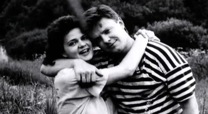 С первой женой Валерией