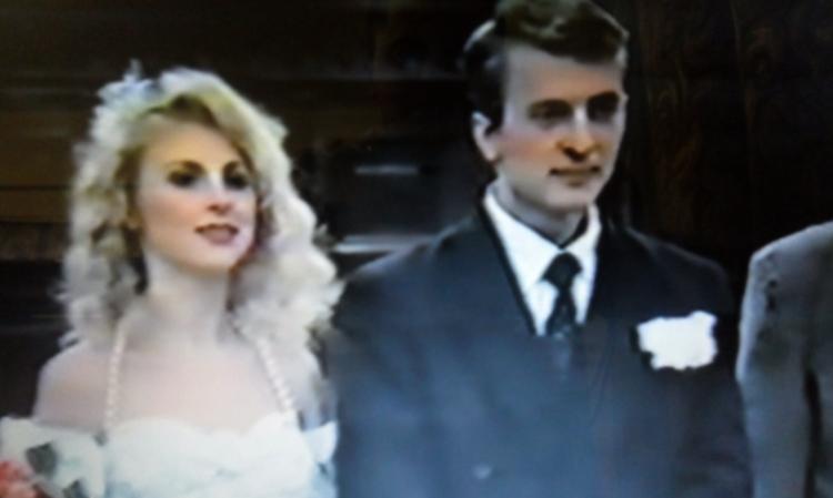 С первым мужем Андреем