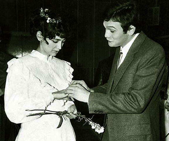 С первой женой Ликой Мансуровой
