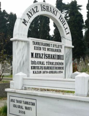 Могила Гаяза Исхаки в Стамбуле