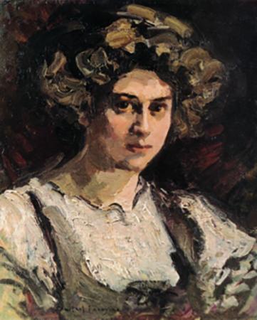 Надежда Комаровская (портрет 1910 г.)