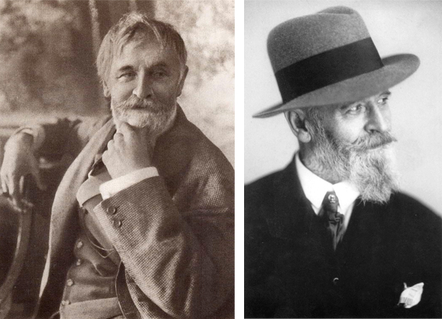 Константин Коровин в старости