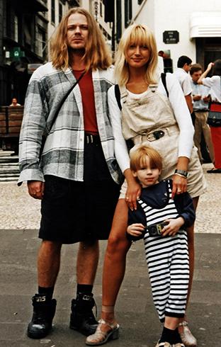С Кристиной Орбакайте и сыном Никитой