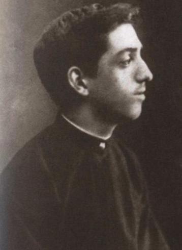 Михаил Кузмин в 1890 г.
