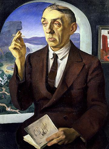 М. Кузмин — портрет Н. Радлова (1926)