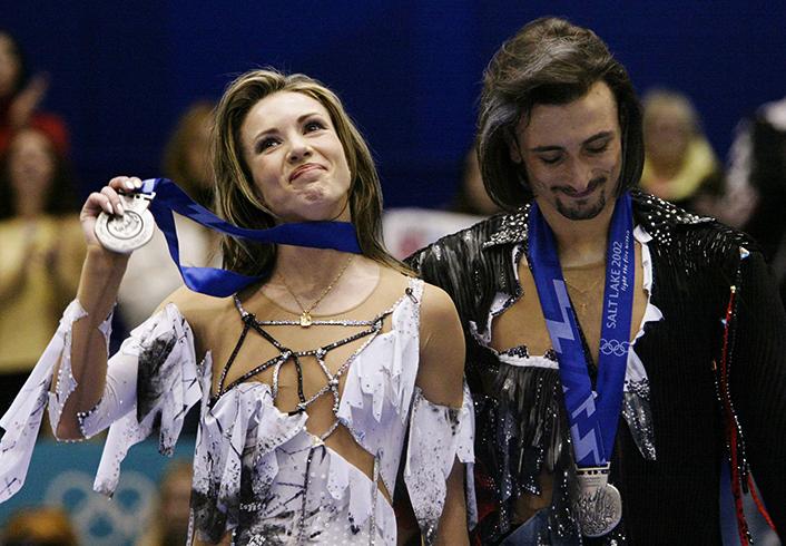 Ирина Лобачёва и Илья Авербух на Олимпиаде 2002