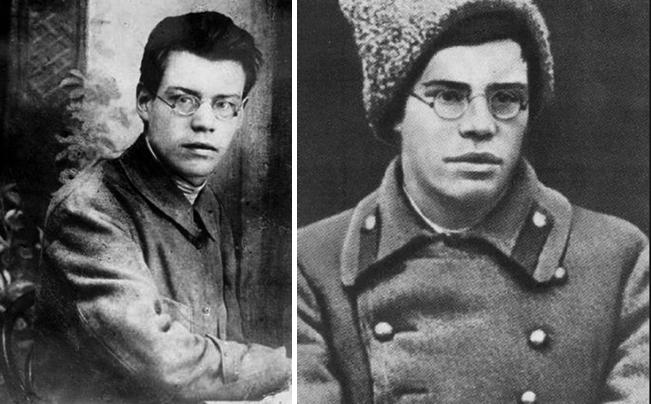 Михаил Исаковский в молодости