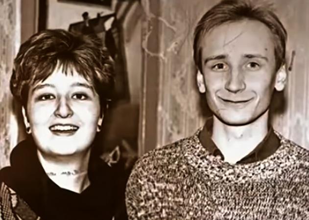 Татьяна Устинова в молодости с супругом