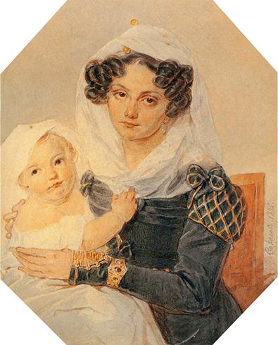 С сыном Николаем