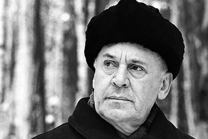 Борис Ливанов в старости