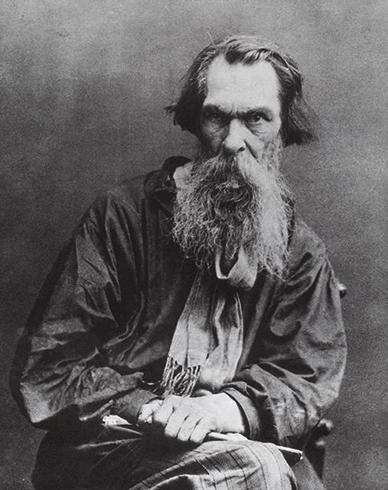 Алексей Саврасов в старости