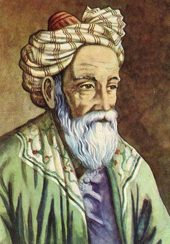 Знаменитый поэт Омар Хайям
