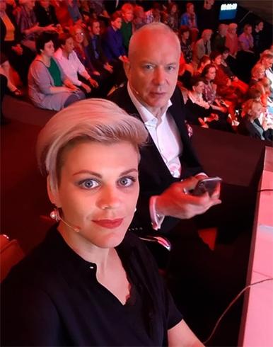 С Сабиной Пантус