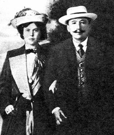 Родители — Мария Юльевна и Борис Семёнович
