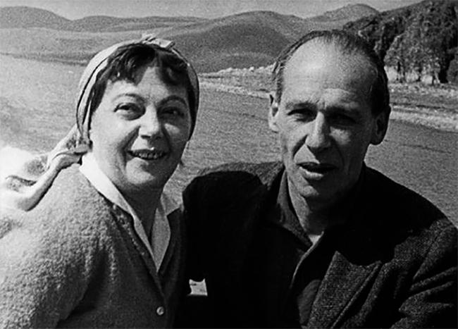 Родители — Владимир Александрович и Жеральдин Лютен