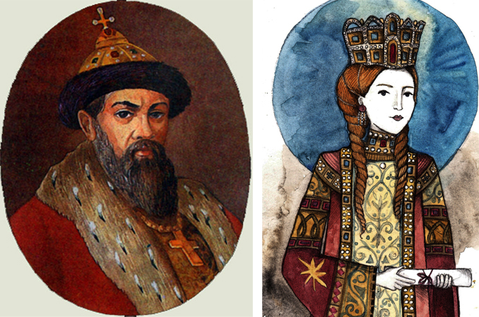Родители — Владимир Мономах и Ефимия