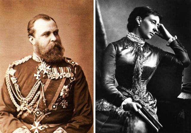 Родители — Гессен-Дармштадтский Людвиг и герцогиня Алиса
