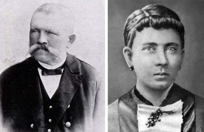 Алоис и Клара — родители Гитлера
