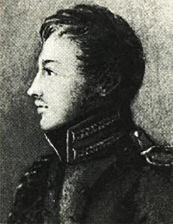 Павел Пестель в 1813 г.