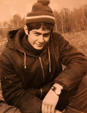 Николай Платошкин в молодости