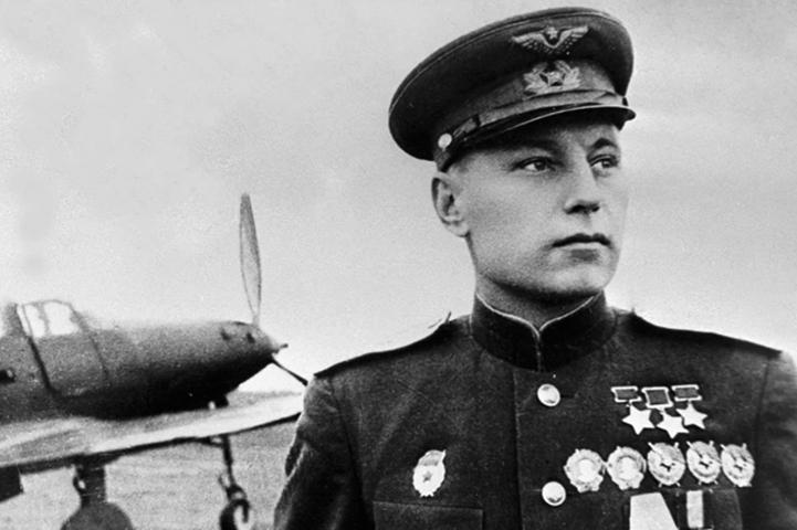 Александр Покрышкин в годы ВОВ