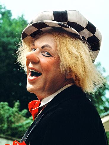 Знаменитый клоун Олег Попов