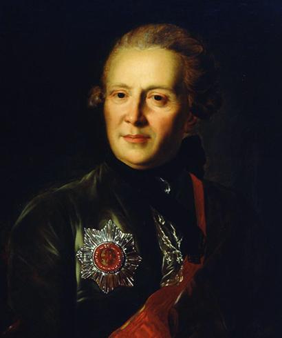 Портрет Ф. Рокотова (1762)