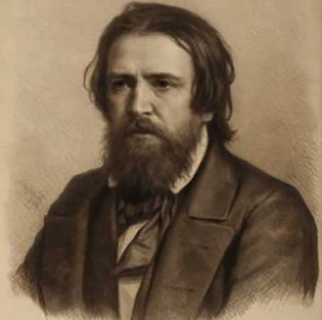 Портрет художника Александра Иванова