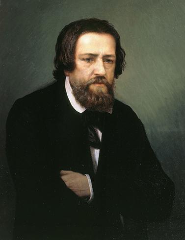 Портрет работы С. П. Постникова