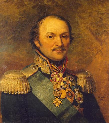 Посмертный портрет Матвея Платова