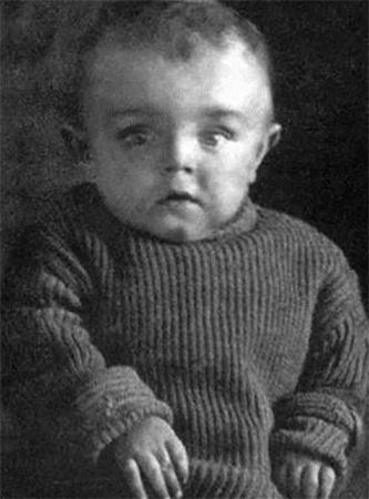 Кирилл Лавров в раннем детстве