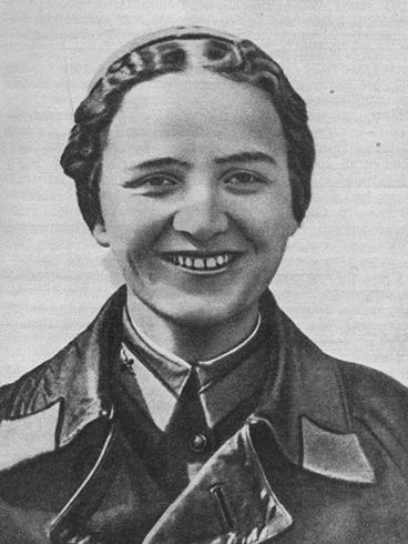 Марина Раскова в 1932 г.
